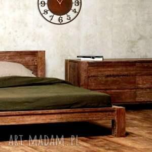 drewniany zegary cichy, zegar 45 cm