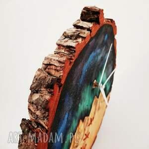 zegary zegar drewniany ścienny