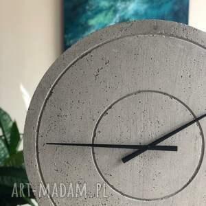atrakcyjne zegary betonowy zegar duży handmade