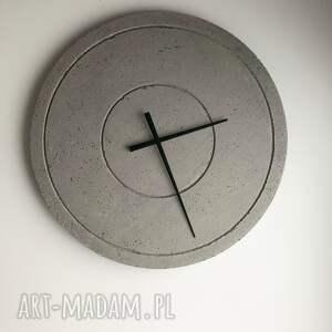 zegary loftowy zegar duży betonowy handmade