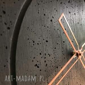 zegary betonowy ręcznie wykonany duży