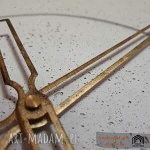 zegary zegar ścienny ręcznie wykonany duży