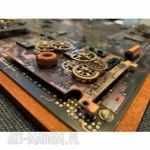 zegary mechanizmy wall machine - clock 3d