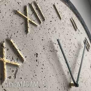 niepowtarzalne zegary zegar betonowy handmade z betonu