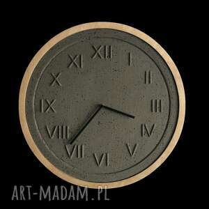 z betonu zegary zegar betonowy roman natural