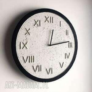 zegary skandynawski zegar betonowy handmade z betonu