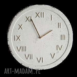 handmade zegary styl skandynawski zegar betonowy z betonu
