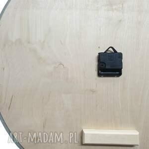 skandynawski zegary białe zegar betonowy handmade z betonu