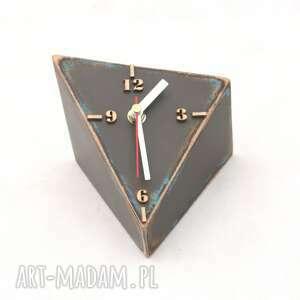 brązowe zegary biurkowy zegar drewniany spicy
