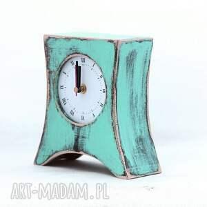 zegary malowany zegar drewniany stojący