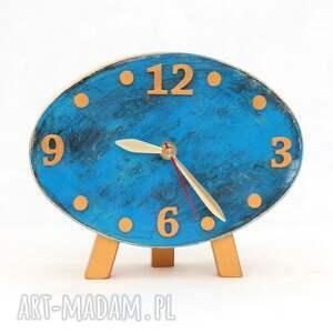 zegary drewno zegar drewniany elipsa