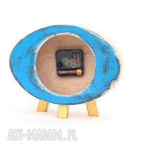 ClockWoodStudio zegary: Zegar drewniany elipsa drewno