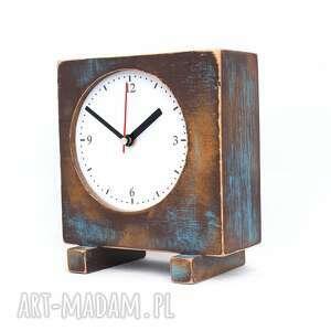 modne zegary drewno zegar drewniany sixty stojący