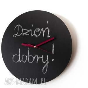 zegary farbatablicowa zegar drewniany pokryty farbą