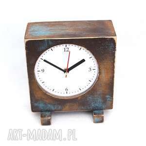 zegary zegar drewniany sixty stojący