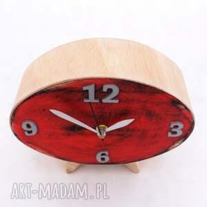 ClockWoodStudio prezent pod choinkę na święta zegar drewniany elipsa
