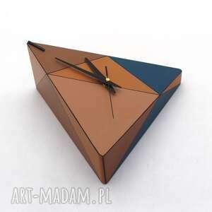 pomysł co pod choinkę zegar ścienny drewniany geometric spicy