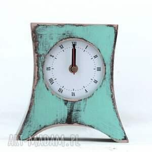 malowany zegary zegar drewniany stojący