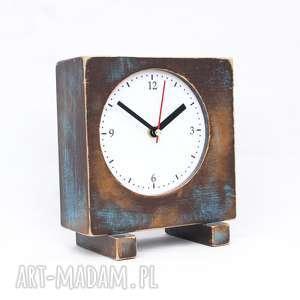 vitage styl zegary zegar drewniany sixty stojący