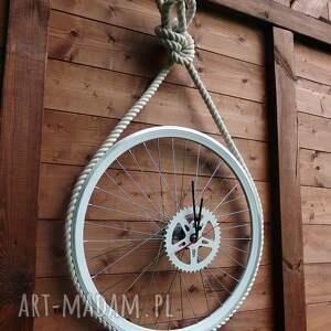 ręcznie robione zegary sznur zegar marine
