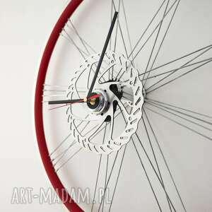 zegary zegar red wheel