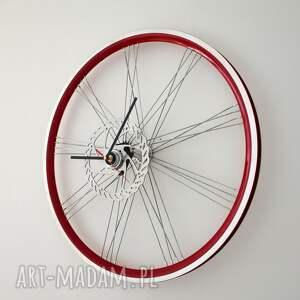 niepowtarzalne zegary zegar red wheel