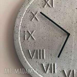 hand made zegary zegar betonowy ścienny z betonu handmade