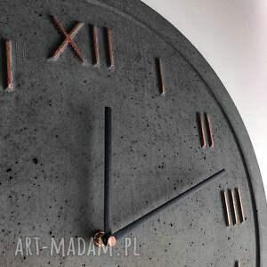 zegary zegar do pokoju ścienny betonowy handmade