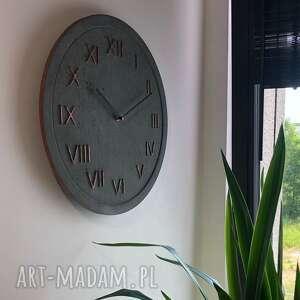 handmade zegary zegar ścienny betonowy
