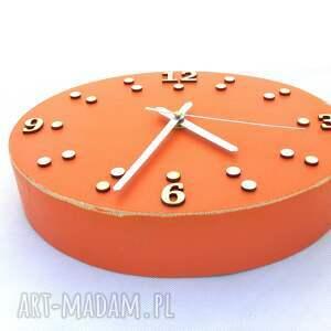 ścienny zegary zegar drewniany - szerokość