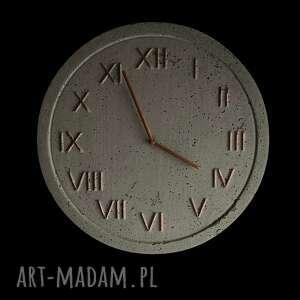 zegar naścienny zegary ścienny betonowy handmade