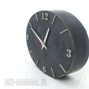 na ścianę zegary zegar ścienny drewniany - szerokość