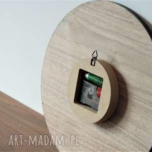 naturalnedrewno zegary 40 cm, zegar ścienny orzech