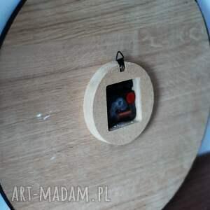 czarne zegary zegar 40 cm, ścienny, czarny