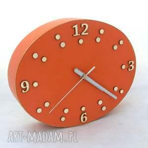 niekonwencjonalne zegary prezent zegar ścienny drewniany - szerokość