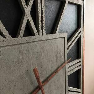 unikalne zegary z betonu zegar ścienny z handmade