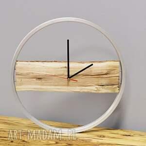 atrakcyjne zegary drewniany zegar wood bikes bazaar