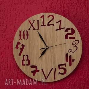 zegary drewno zegar z drewna bambusowego różne
