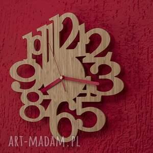 nietuzinkowe zegary zegar z drewna bambusowego