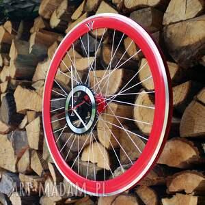 zegary rowerzysta zegar z koła falcon