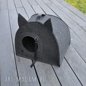 kot zwierzaki nasz filcowy domek został zaprojektowany