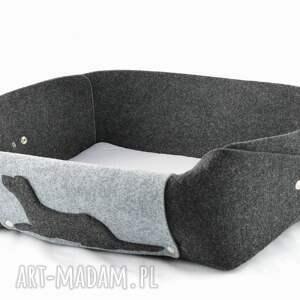 handmade zwierzaki pies legowisko dla psa z poduszką