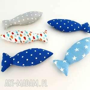zwierzaki rybki z kocimiętką zabawka
